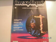 **a inexpliqué n°61 L'invisible empire du Ku Klux Klan / Nikola Tesla