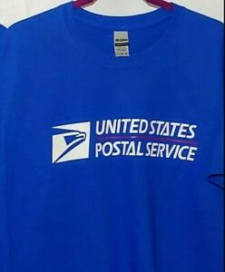 USPS POSTAL WORKER T-SHIRT | PRINT ON FRONT & SLEEVES