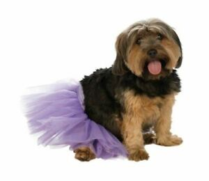 Tutu - Purple - Pet Costume Accessory - Medium/Large