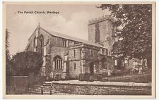 Oxfordshire; The Parish Church, Wantage PPC, Unposted, Dated 1938 To Rev