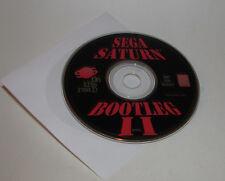 Sega Saturn Bootleg II 2 On The Road Sampler Demo Disc Not for Resale HTF RARE