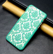 New Retro Pattern Matte PC Hard Back Case Cover For Apple iphone 5 5s SE Green
