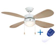 Ventilador de techo con luz Aireryder Fn43315 Classic Pino/blanco