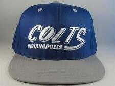 Indianapolis Colts NFL Retro Snapback Hat Cap Blue Gray