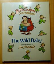 The Wild Baby 1981 Barbro Lindgren & Eva Eriksson HCDJ 1st Review Copy PRELUTSKY