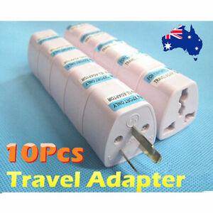 5/10X NEW UK USA EU to AU AC Power Plug Adapter Travel Converter Australian AU