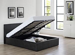 Ottoman Storage Bed (NO MATTRESS INCUDED)