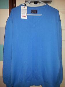 LEGER ! Long Sleeve Men's Sweater Jumpers/BLUE XXL