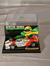 Ayrton Senna Collection Nr. 4, 1993 Penske Chevrolet, F1, 1:43 Minichamps