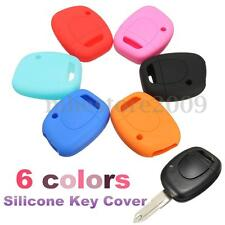 Silicone Remote Key Fob Case Cover Holder For RENAULT Twingo Clio Kangoo Maste