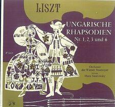 Liszt, Ungarische Rhapsodien Nr. 1, 2, 3 Und 6