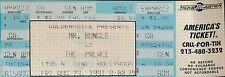 MR. BUNGLE - 1991 UNUSED CONCERT TICKET - THE PALACE