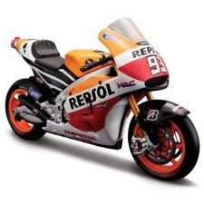 Motos miniatures orange 1:10