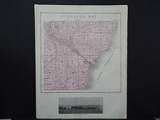 Wisconsin, Door County, Single Page, 1899 Sturgeon Bay Township Map