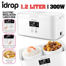 idrop 1.2L LIFE ELEMENT 300W Smart Timing Double Ceramic Electric Insulation Lun