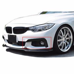Gloss Black Front Bumper Upper Canard Splitters For BMW 4 Series F32 F33 F36