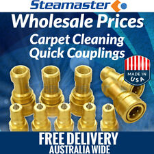 Steam Cleaning 5 Sets of ¼ Female Male Carpet Cleaning Solution Hose Connectors