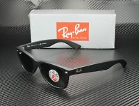 RAY BAN RB2132 622 58 New Wayfarer Black Green Polarized 52 mm Unisex Sunglasses