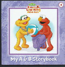 SESAME STREET Elmo's Learning Adventure {My A&B Storybook} #4 VG