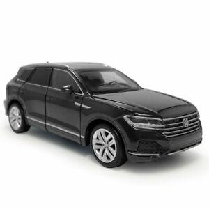 1:32 VW Touareg 2020 SUV Model Car Diecast Gift Toy Vehicle Kids Black Sound