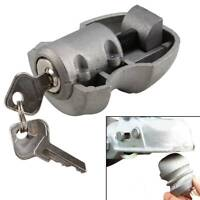 HITCH COUPLING LOCK FOR TRAILER CARAVAN SECURITY TOW BAR 50MM TOW BALLS 2 KEYS