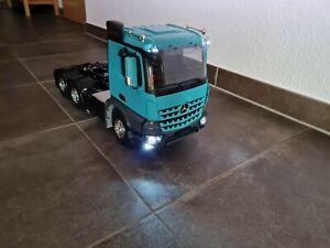 Neu Tamiya Mercedes Arocs 3363 RC LKW Truck