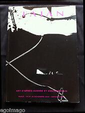 "JOLI CATALOGUE ""ART D'APRÈS-GUERRE ABSTRAIT & CONTEMPORAIN"" TAJAN 19-20 Nov 2008"