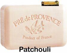 Pre de Provence PATCHOULI 250 Gram French Soap Bath Shower Bar Shea Butter XL