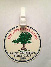 Vintage Rare The Saint Andrew's Golf Club 'The Apple Tree Gang' Golf Bag Tag