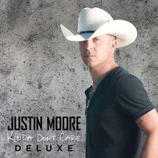 JUSTIN MOORE KINDA DON'T CARE DELUXE EDITION CD ALBUM (2016)