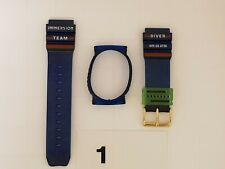 horloge band Immersion kunststof , voor horloge model Team en Colombo