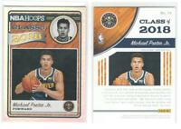 Rare MICHAEL PORTER Jr. Gold Parallel Class of 2018-19 Hoops Rookie Card RC deal