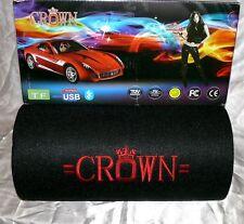 Crown XXL Woofer Musik Anlage USB SD MP3 UKW RADIO SUBWOOFER FB 12-24V 150W B1