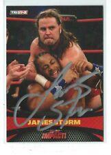 James Storm Signed 2009 Tristar TNA Impact Card #6