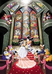 Disney Jigsaw Puzzle Mickey Mouse Wedding 1000 Pieces