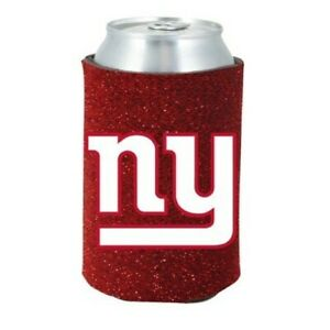 NEW YORK GIANTS RED CAN COOLERS KOOZIES 2PACK