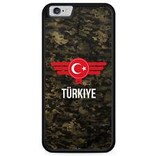iPhone 6 6s Hülle SILIKON Case Türkiye Türkei Camouflage mit Schriftzug Militär
