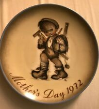 Mothers Day 1972 Art Of Sister Bertha Hummel Plate