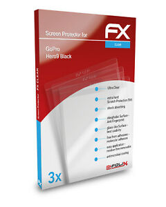 atFoliX 3x Pellicola Protettiva per GoPro Hero9 Black chiaro