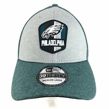 Philadelphia Eagles New Era 39Thirty Flex Fit Cap NFL On Field Hat Medium-Large