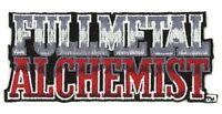 "FULLMETAL ALCHEMIST Logo Patch 4"" x 1 3/4"" Patch Licensed by GE Animation 7110"