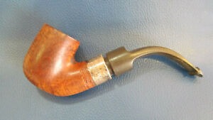 PIPA PETERSON DE LUXE STERLING SILVER IRLANDESE - MADE IRELAND SMOCKING PIPE