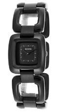 Nixon Women's Sisi Analog Quartz Black Stainless Steel Watch A285001
