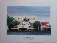 POSTER ARTWORK PRINT / DESSINS F1 BRM 153 - MARCH 701  30 x 40 cm by CLOVIS
