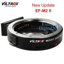 Viltrox EF-M2 II AF Adapter Speed Booster for Canon EOS EF Lens to MFT M43 M4/3