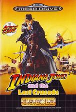 ## Indiana Jones and the Last Crusade - SEGA Mega Drive / MD Spiel - TOP ##