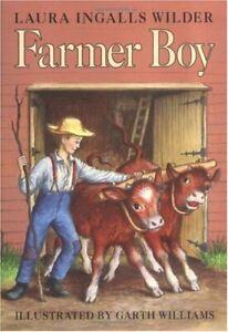 Farmer Boy Little House Hardcover Laura Ingalls Wilder