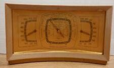Desktop Barometer Stormoguide Thermometer Taylor Instrument  121219DBT2