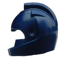 Lego 2 Stück Helm mit Lufteinlass in dunkelblau (22380) Helme Nexo Knights Neu
