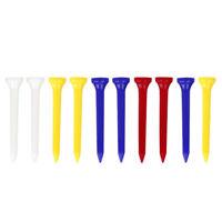 Set of 10 Bulk Golf Driving Range Tees Low Friction Plastic Golf Nails
